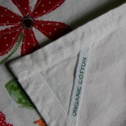 Organic tea towel loop