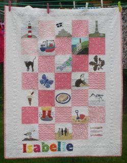 Magatha Bagatha: Isabelle's quilt