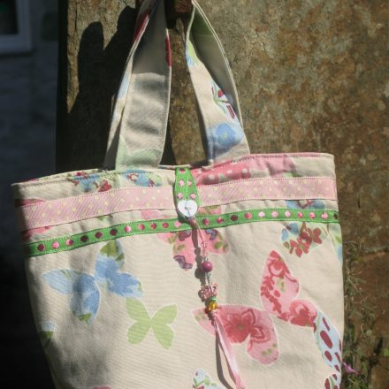 Small butterfly tote bag | magathabagtha.co.uk