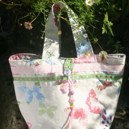 Small butterfly tote bag 2 | magathabagtha.co.uk