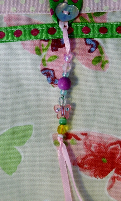 Butterflies bag charm