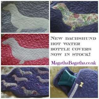 Hot water bottle covers - winter 2015