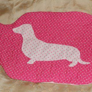 Pink dog HWB cover