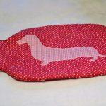 Pink dachshund HWB cover