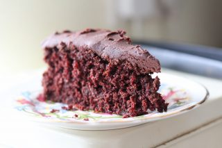 Vegan Chocolate Ginger Cake