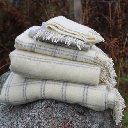Welsh Wool scarves and throws