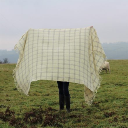 Large wool throw